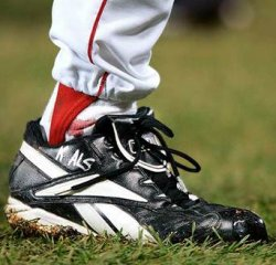 Curt Schilling's bloody sock from Game Two of the 2004 World Series