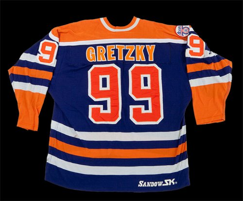 watch d066a dc088 SCP Auctions to Auction 2nd Year Gretzky Oilers Game Used ...