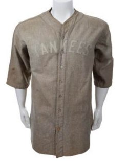 Lou Gehrig's 1927-28 New York Yankees game worn jersey brings $717,000 in Heritage's $5.95+ million New York City sports event