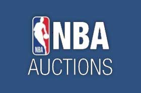 Bid in Auctions From NBA Auctions of Game Used Memorabilia