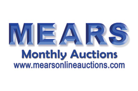 MEARS Auction of Memorabilia and More Ends May 8, 2021
