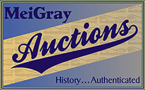 MeiGray Auctions Offers Game Worn Memorabilia and More at Auction in December 2018