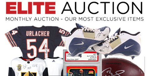 Pristine Auction Offers Monthly Elite Auction Ending Last Sunday January 27, 2019