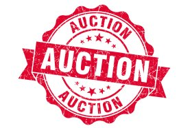 2021 Auction Schedule