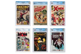 Hake's Online Comic Auction In Progress January 14-24