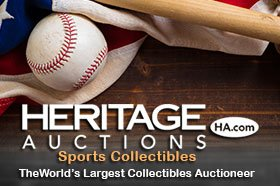 Heritage Auctions Spring Sports Catalog Auction – Ends May 6-8, 2021