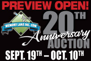 20th Year Anniversary Auction