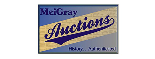MeiGray Auctions Offers Game Worn Memorabilia and More at Auction